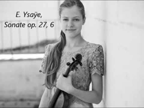 E. Ysaye - Solo Sonata No 6 - Lara Boschkor (13 years)