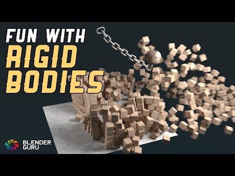 Blender Tutorial - Quick Rigid Body Fun
