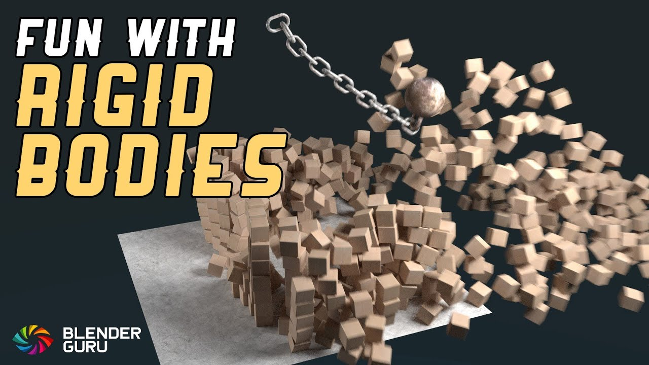 Blender tutorial quick rigid body fun youtube sciox Images