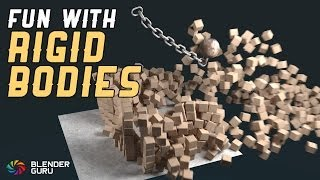 Blender Tutorial - Quick Rigid Body Fun
