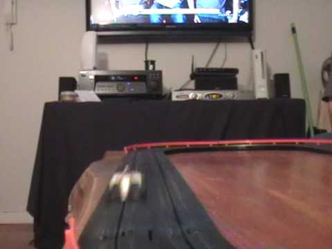 slot car coffee table
