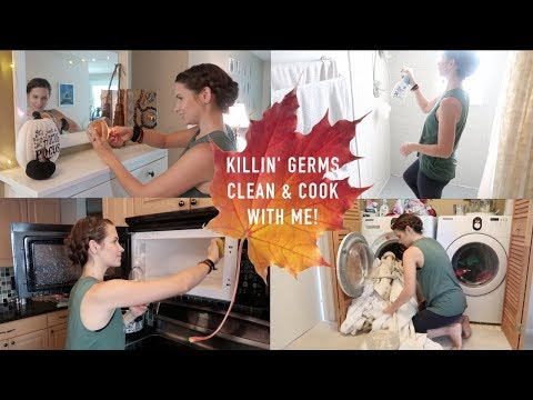 Clean & Cook With Me After Sickness!! Ultimate & Deep & Clean After Dark (all the catchy titles)