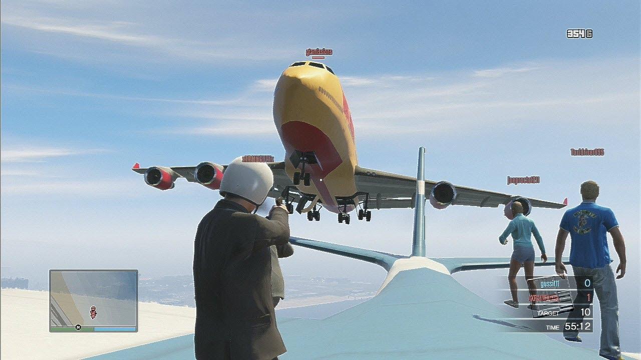 gta 5 online awesome cargo plane stunts youtube