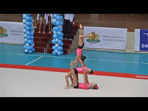 Acrobatic Gymnastics Competition in Burgas 2016