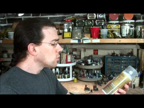 TerranScapes - Testors Dullcote vs Army Painter Anti-Shine.wmv