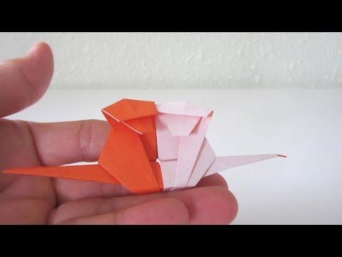 TUTORIAL - Year of the Monkey (Origami Twin Monkeys)