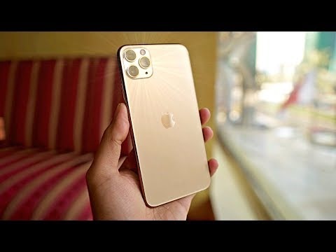 """IPhone 11 Pro Max """"GOLD"""" UNBOXING! Worth The Upgrade Vs IPhone XS MAX?"""