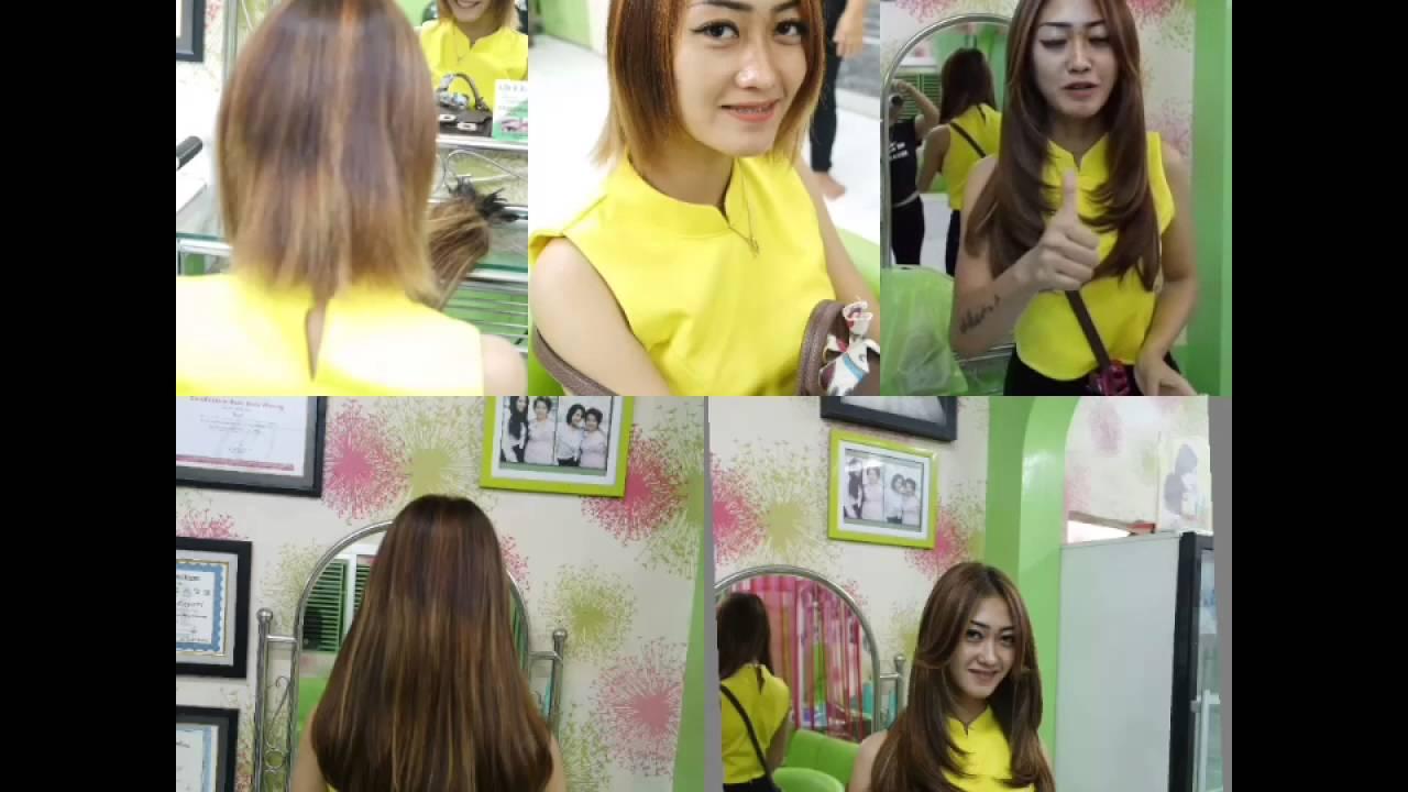 Extension Rambut Pendek