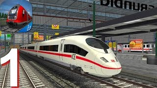 Euro Train Simulator 2 - Gameplay Walkthrough Part 1 Tutorial (Android Gameplay) screenshot 1