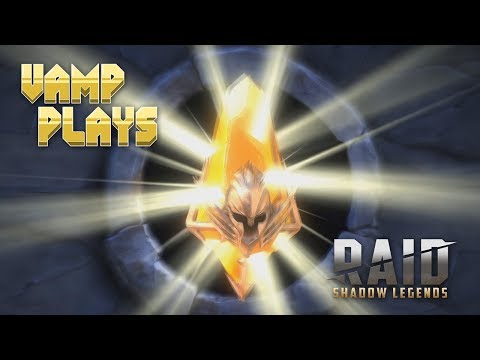 RAID: Shadow Legends | LEGENDARY Shard Opening | Vamp Plays