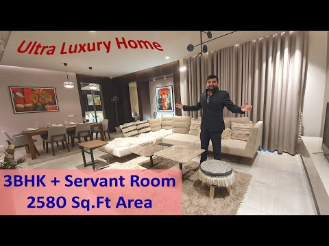 Marbella Grand 2580 Sq Ft 3BHK + Servant With Store- Ultra Luxury Apartments Chandigarh, Mohali