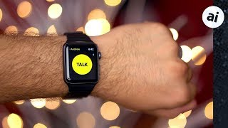 Hands-on with Walkie-Talkie for Apple Watch! ⌚