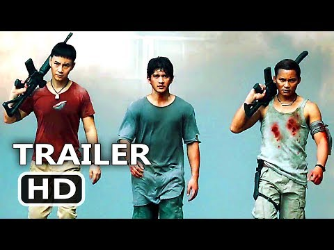 TRIPLE THREAT   2017 Tony Jaa, Iko Uwais, Scott Adkins Action Movie HD