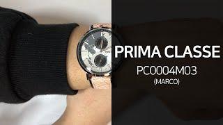 프리마클라쎄 PC0004M03 Marco 가죽시계 1분…