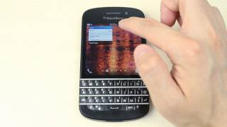 How to change the wallpaper on Blackberry Q10