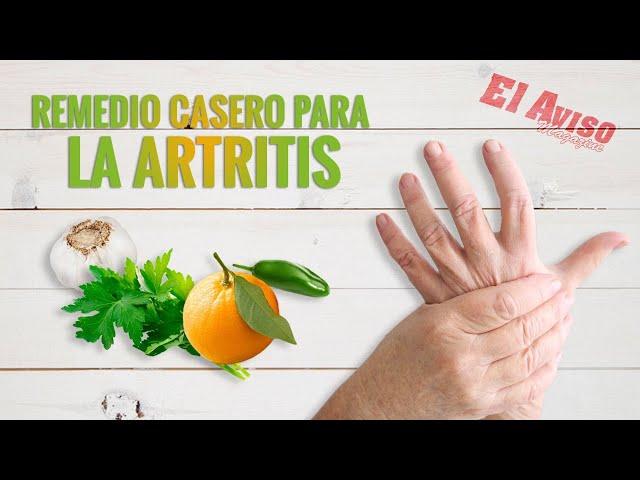 Jugo natural para la artritis - El Aviso Magazine 2021