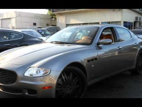 2005 Maserati Quattroporte For Sale In STUDIO CITY, CA