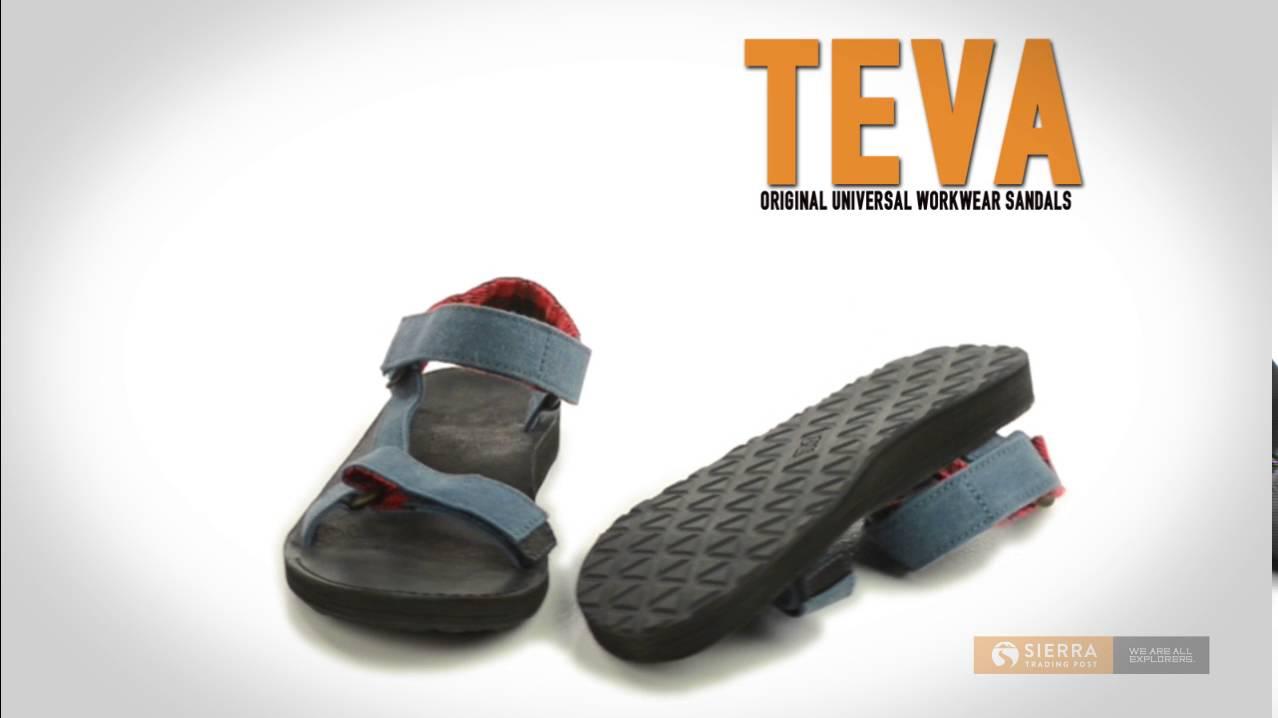 5d9c3a131 Teva Original Universal Workwear Sport Sandals (For Men) - YouTube