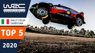 WRC - Rally Italia Sardegna 2020: TOP 5 moments!