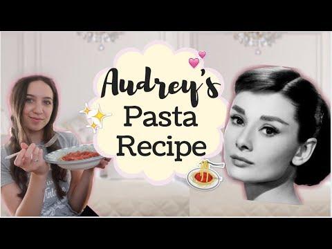 TESTING Audrey Hepburn's Famous Pasta Recipe!!