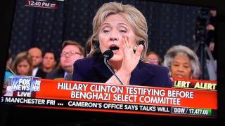 Hillary Answering Tough Questions