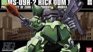 Bandai HGUC RICK DOM II COLONY COLORS (Part 1)
