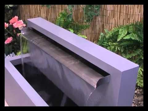 Stunning Modern Garden Water Feature