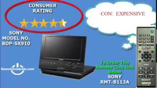 Review Sony 9- Portable Blu-ray Disc Player - BDP-SX910