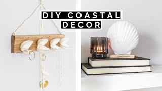 Diy Coastal Room Decor | Diy Dollar Tree Summer Home Decor
