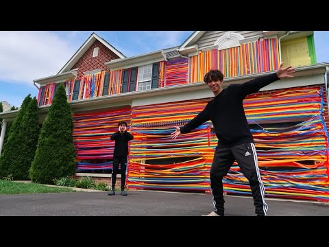 Thumbnail: CRAZY DUCT TAPE PRANK ON HOUSE!