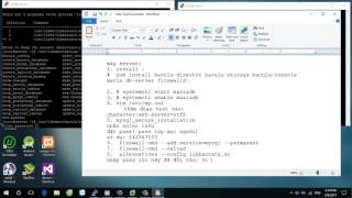 install and configure bacula centos 7