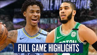 BOSTON CELTICS vs  MEMPHIS GRIZZLIES - FULL GAME HIGHLIGHTS | 2019-20 NBA Season