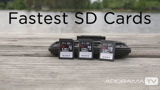 The Fastest SD Cards In The World: The Breakdown with Miguel Quiles