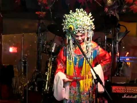 Beijing opera live perfrmed @ Club New York - Qingdao