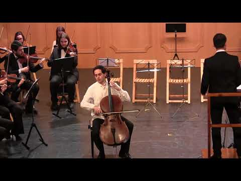 A. Vivaldi: Cello Concerto in G Major, RV. 413. Guillermo L. Cañal, Ars Mundi Ensemble