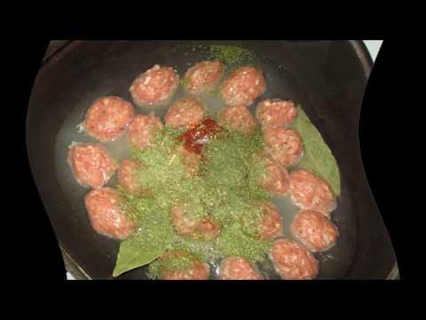 Фрикадельки с подливкой рецепт.Как приготовить фрикадельки.