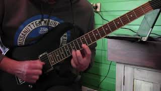 """The Human Abstract """"Patterns"""" GUITAR SOLO COVER"""