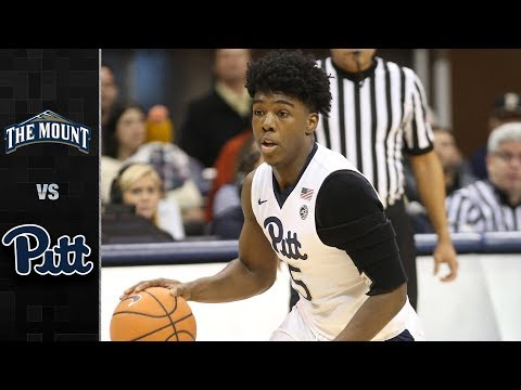 Mount St. Mary's vs. Pittsburgh Basketball Highlights (2017-18)