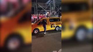 Drunk Frat Bro Attacks Taxi Driver (Gets Owned) in NYC