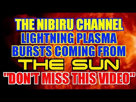 PLANET X - PLASMA LIGHTNING BURSTS COMING FROM THE SUN!