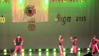 Jr Jumping Jacks performance at New england Tamil Sangam @ Boston 2015