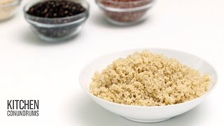 How to Cook Fluffy Quinoa - Kitchen Conundrums with Thomas Jospeh