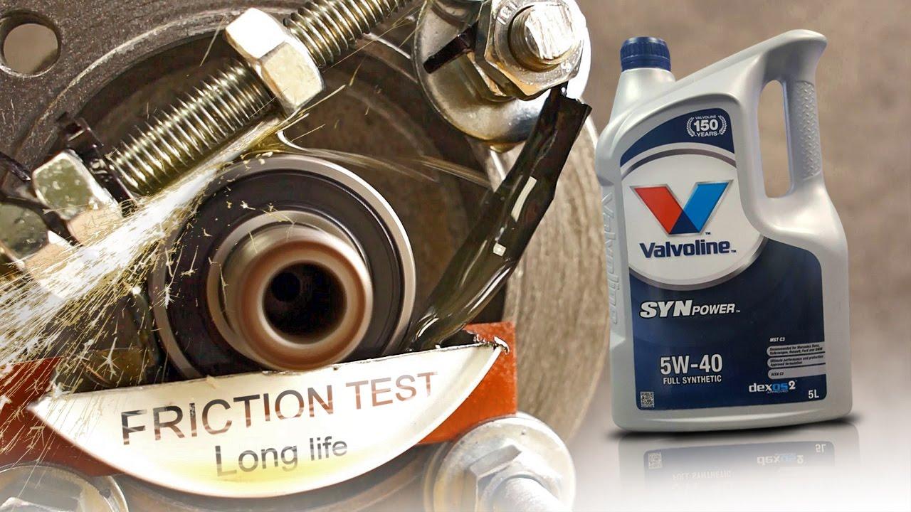 Valvoline synpower mst c3 5w40 how well the engine oil for Valvoline motor oil test
