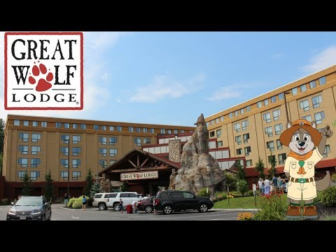 Birthday Trip To Great Wolf Lodge Indoor Water Park and Hotel!! Adventure Stay #1
