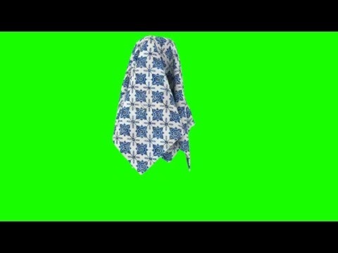MAGIC MATERIAL LIFTING GREEN SCREEN FREE STOCK FOOTAGE