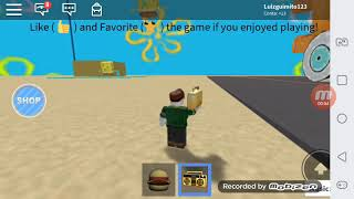 Listening to music at Roblox
