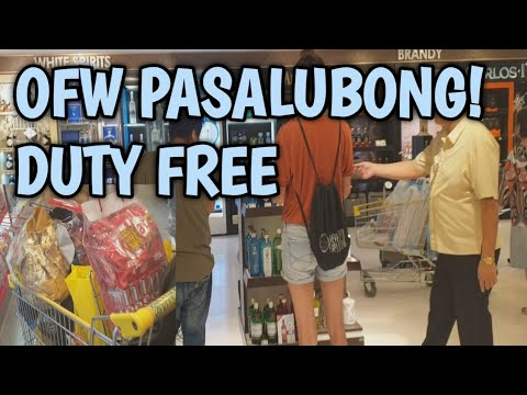 DUTY FREE PHILIPPINES SHOPPING