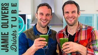 Healthy Emerald Green Smoothie | The Happy Pear
