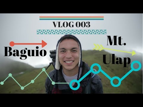 ITS SO BEAUTIFUL HERE!! The Baguio x Ulap Vlog | Vlog 003