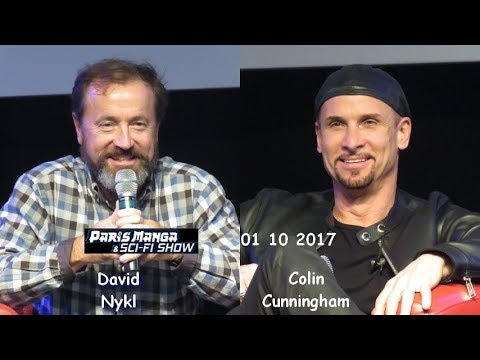 Paris Manga & SciFi  24  Colin Cunningham et David Nykl 01 10 2017